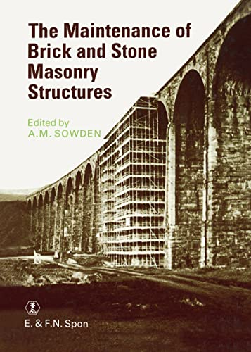 9780419149309: Maintenance of Brick and Stone Masonry Structures
