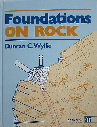 9780419151500: FOUNDATIONS ON ROCK