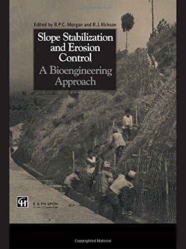 9780419156307: Slope Stabilization and Erosion Control: A Bioengineering Approach