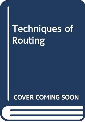 9780419157601: Techniques of Routing
