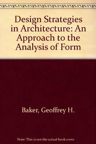 9780419159506: Design Strategies Architecture Pb