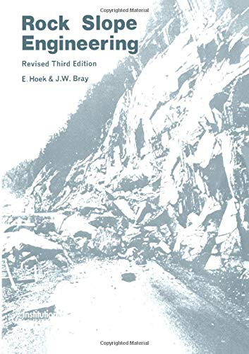 9780419160106: Rock Slope Engineering: Third Edition
