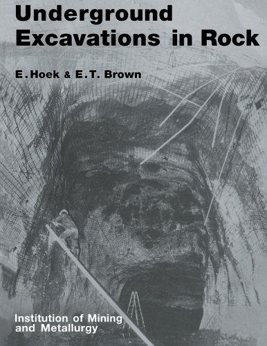 9780419160304: Underground Excavations in Rock