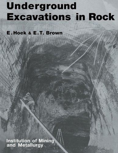 9780419160304: Underground Excavations in Rock