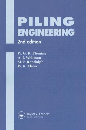 9780419161806: Piling Engineering