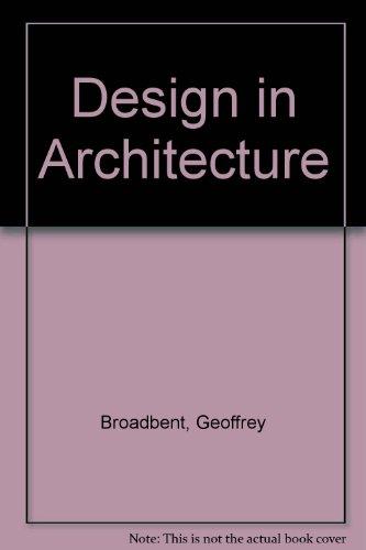 9780419168300: Design in Architecture