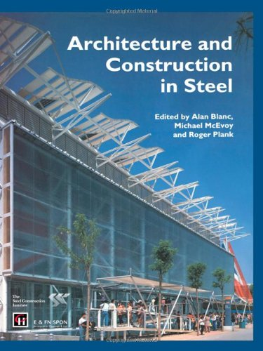 9780419176602: Architecture and Construction in Steel