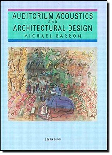 9780419177104: Auditorium Acoustics and Architectural Design