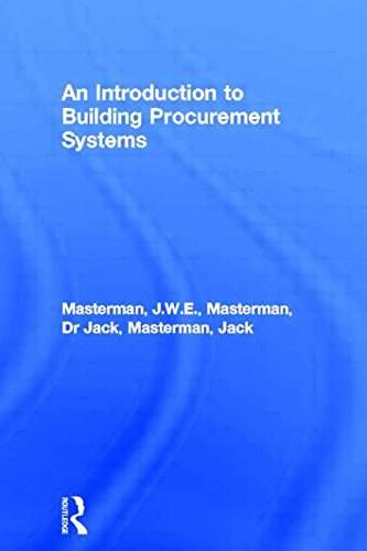 9780419177203: An Introduction to Building Procurement Systems