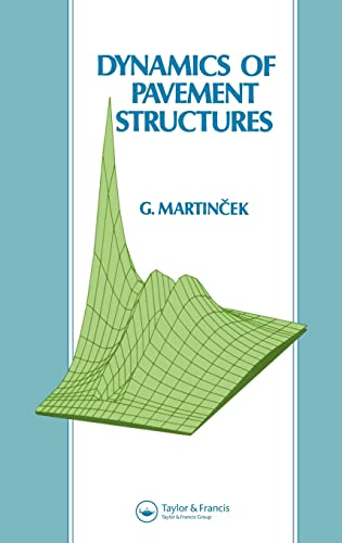 9780419181002: Dynamics of Pavement Structures