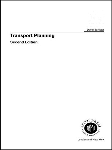 9780419189305: Transport Planning: In the UK, USA and Europe (Transport, Development and Sustainability Series)