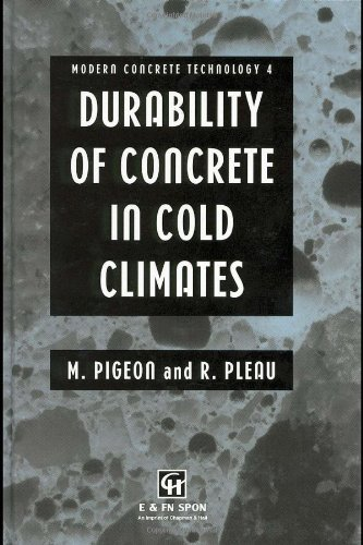9780419192602: Durability of Concrete in Cold Climates (Modern Concrete Technology)