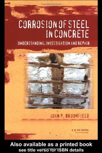 9780419196303: Corrosion of Steel in Concrete: Understanding, investigation and repair