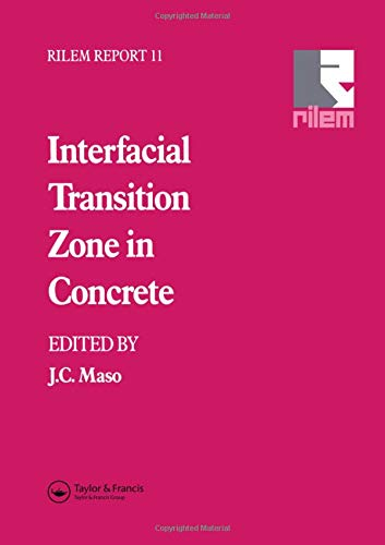 9780419200109: Interfacial Transition Zone in Concrete (RILEM Reports)