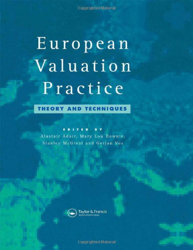 European Valuation Practice: Theory and Techniques: A. Adair, M.L.