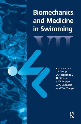 9780419204800: Biomechanics and Medicine in Swimming VII