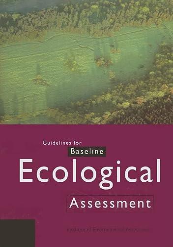 9780419205104: Guidelines for Baseline Ecological Assessment