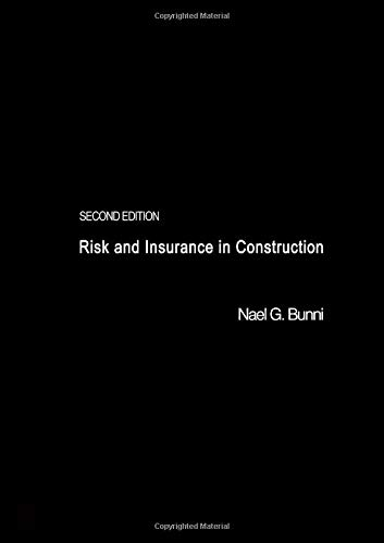9780419213802: Risk and Insurance in Construction