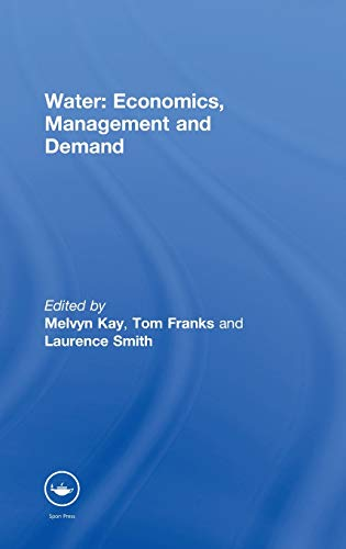 9780419218401: Water: Economics, Management and Demand