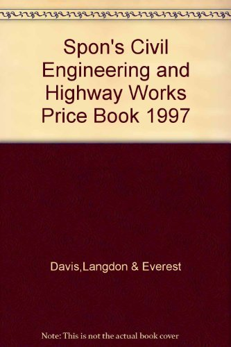 9780419222002: Spoon's Civil Engineering and Highway Works Price Book 1997