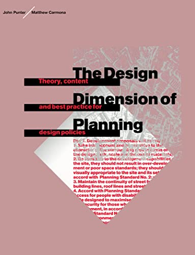 The Design Dimension of Planning: Punter, John and