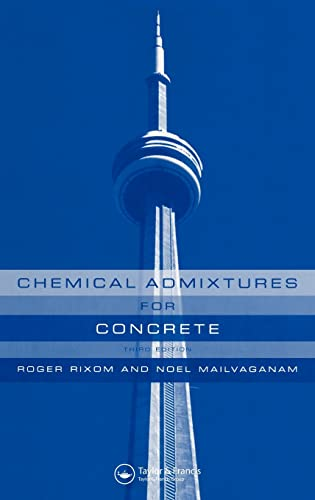 9780419225201: Chemical Admixtures for Concrete, Third Edition