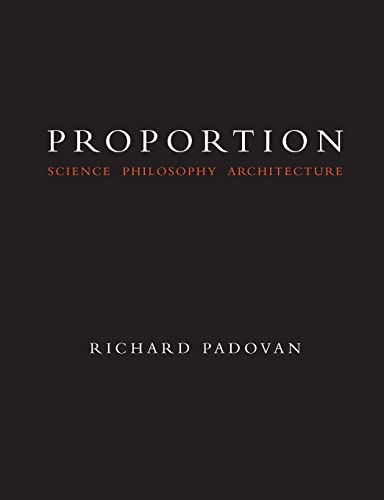 9780419227809: Proportion: Philosophy, Science and Architecture: Science Philosophy and Architecture