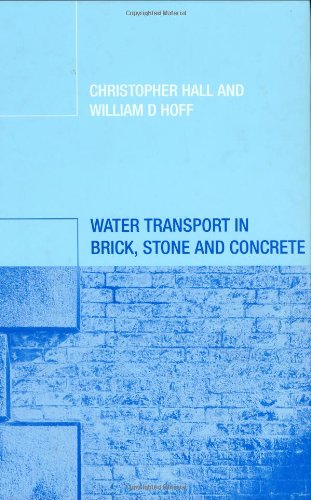 9780419228905: Water Transport in Brick, Stone and Concrete
