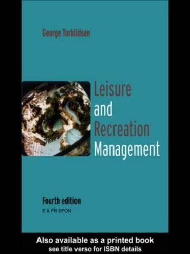 9780419229407: Leisure and Recreation Management: 5th Edition
