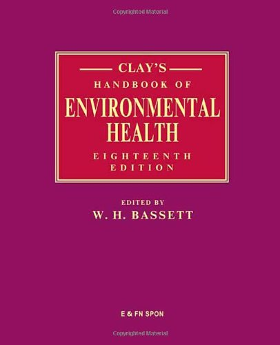 9780419229605: Clay's Handbook of Environmental Health