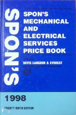 9780419230809: Spon's Mechanical and Electrical Services Price Book 1998
