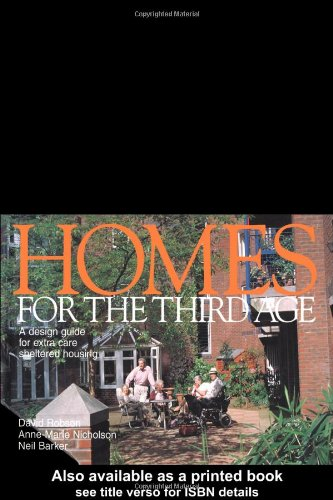 9780419231202: Homes for the Third Age: A Design Guide For Extra Care Sheltered Housing