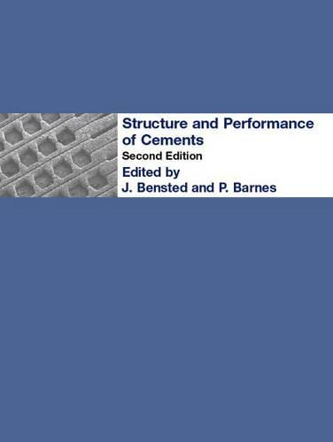 9780419233305: Structure and Performance of Cements, Second Edition