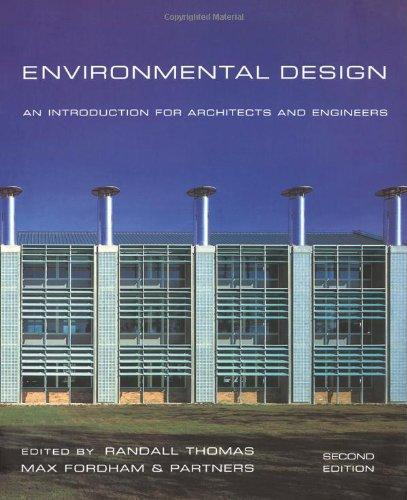 9780419237600: Environmental Design: An Introduction for Architects and Engineers