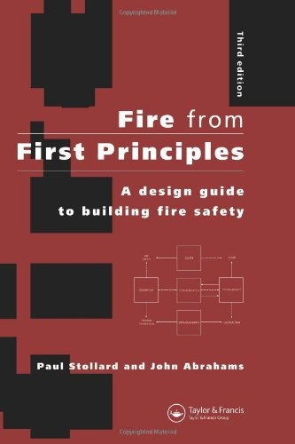 9780419242703: Fire from First Principles: A Design Guide to Building Fire Safety