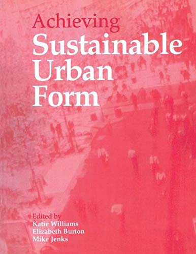 9780419244509: Compact City Series: Achieving Sustainable Urban Form