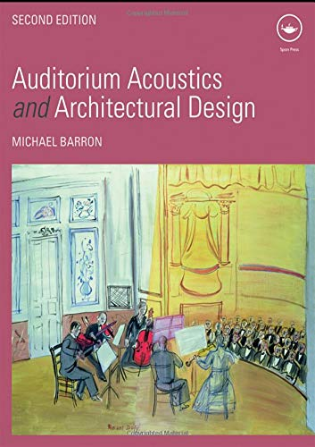 9780419245100: Auditorium Acoustics and Architectural Design