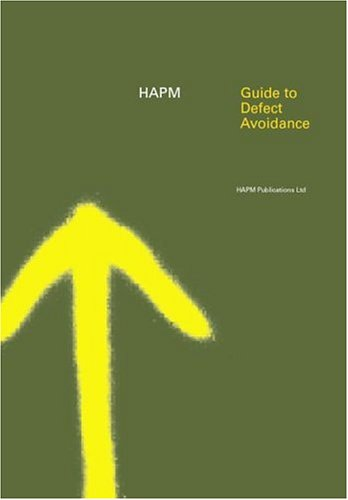 9780419248903: Guide to Defect Avoidance (HAPM Series)