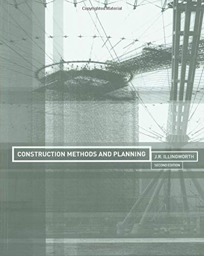 9780419249801: Construction Methods and Planning