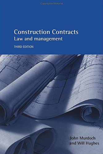 9780419253105: Construction Contracts 3E: Law and Management