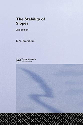 9780419255802: The Stability of Slopes