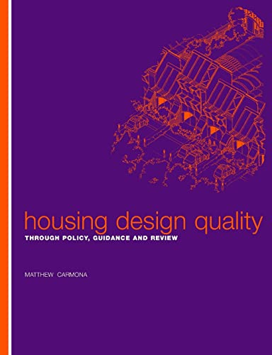 9780419256502: Housing Design Quality: Through Policy, Guidance and Review