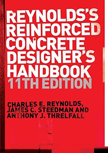 9780419258308: Reinforced Concrete Designer's Handbook, Eleventh Edition