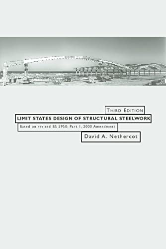 9780419260905: Limit States Design of Structural Steelwork, Third Edition