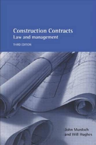 9780419261704: Construction Contracts: Law and Management