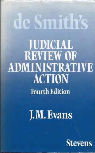 Judicial Review of Administrative Action: Smith, S.A.De