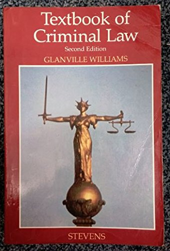 9780420468604: Textbook of Criminal Law