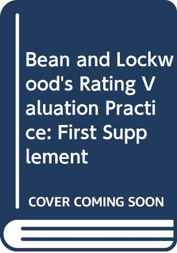 Bean and Lockwood's Rating Valuation Practice: First: Arthur Lockwood