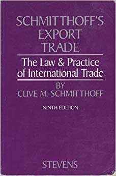 9780420481801: Export Trade: The Law and Practice of International Trade
