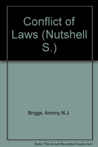 9780421149205: Conflict of Laws (Nutshell)